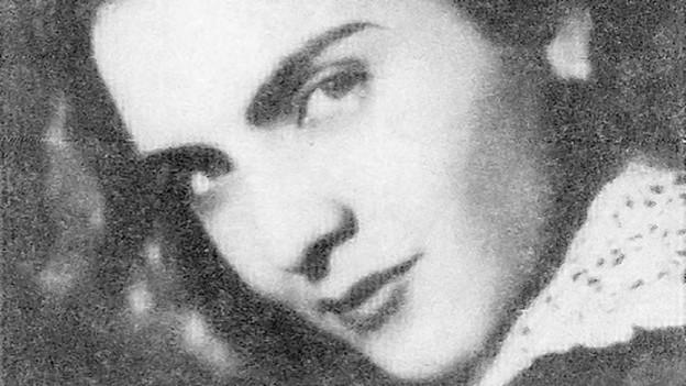 Die rumänische Sängerin Maria Tanase.