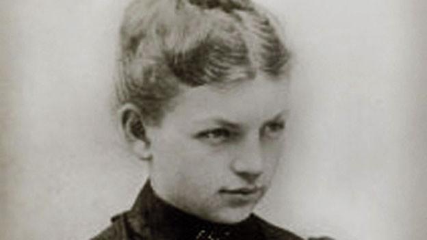 Clara Immerwahr im Fotoporträt.