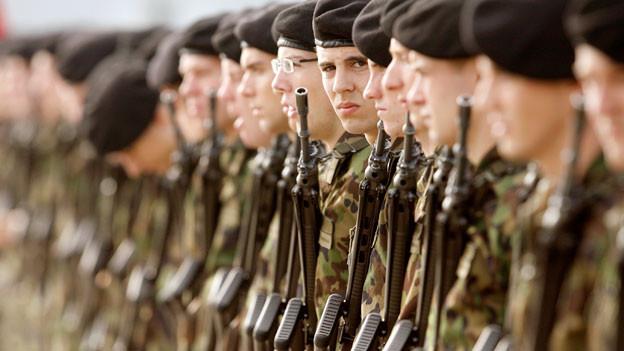 Vor allem Schweizer Soldaten waren immer wieder vom «Weh» betroffen.