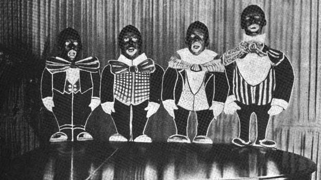 Die Geschichte der Schweiz hat auch mit Blackfacing (hier die Band «The Radio Four» im Jahr 1922) zu tun.
