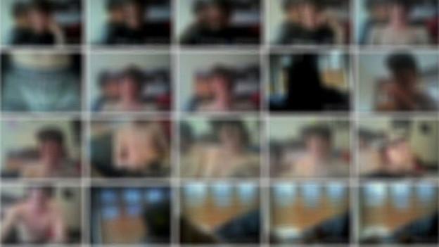 Die Seite eines Kinderpornografie-Rings, der im März 2014 aufgedeckt wurde.