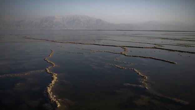 Das Tote Meer ist bedroht