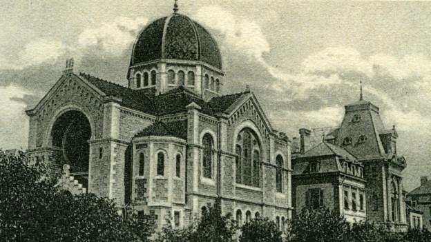 Postkarte des Gebäudes