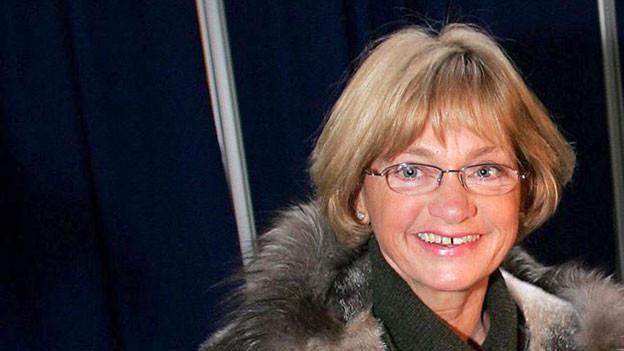 Pia Kjaersgaard, die Initiatorin und Vorsitzende bis 2012 der dänischen Volkspartei.