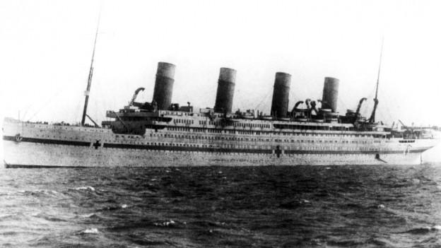 Bild des Schiffes «Britannic»