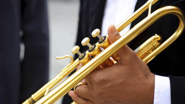 Nahaufnahme Trompete