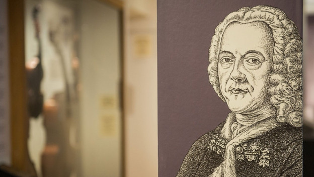 Portrait vom Komponisten Georg Philipp Telemann