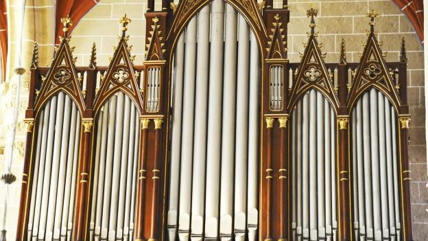 Orgel in der Marienkirche in Mülhausen