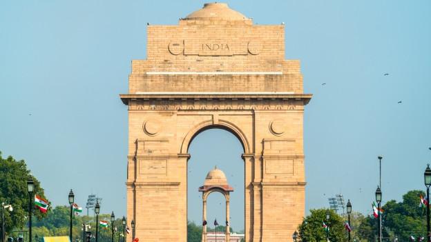 Das India Gate in Neu Dehli