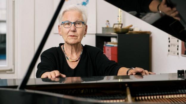 Portrait von Irène Schweizer