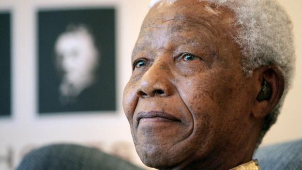 Portrait von Nlson Mandela