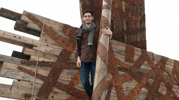 Der syrische Pianisten Aeham Ahmad