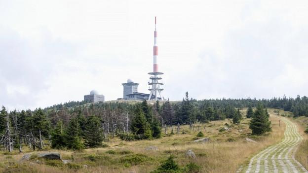 Foto von dem Turm auf dem Blocksberg