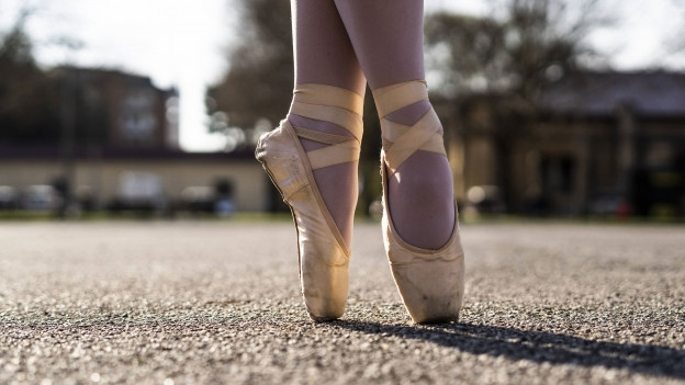Ballerina Schuh
