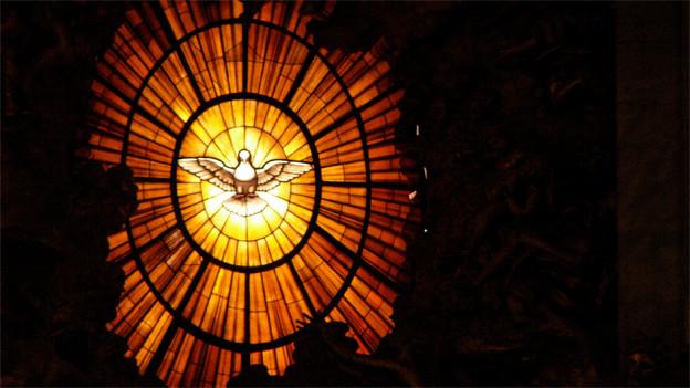 Der Heilige Geist der Cathedra Petri im Petersdom.
