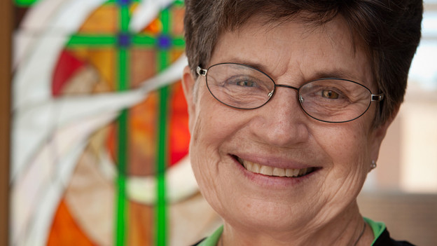 Herbert-Haag-Preisträgerin 2013: Farrell Pat US-Ordensfrau Ex-Präsidentin LCWR