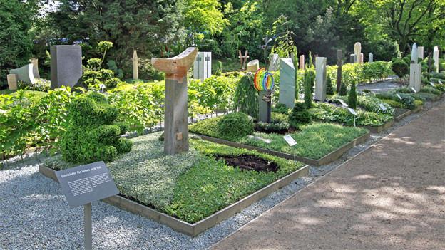 Grabgestaltung ist auch ein Thema der «igs 2013» in Hamburg.