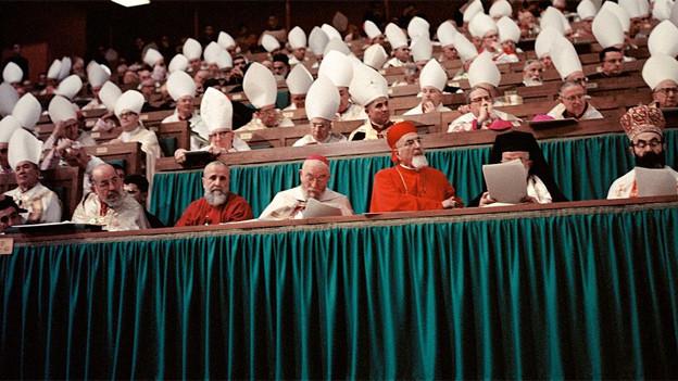 Zweites Vatikanisches Konzil: klare Männersache.