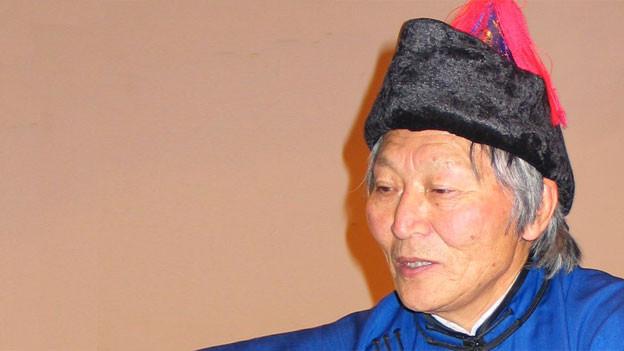 Der mongolische Autor Galsan Tschinag.