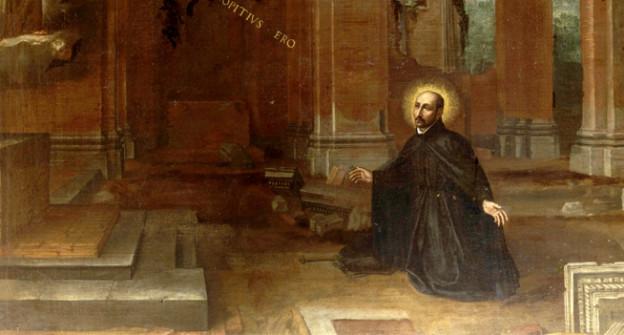 Gemälde von Ignatius von Loyola