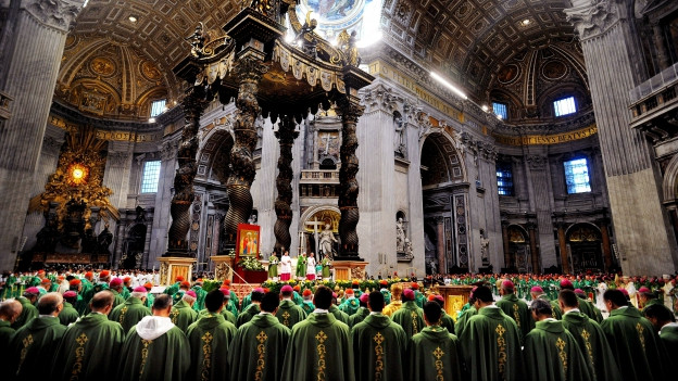 Eröffnung der Familiensynode vor einem Jahr im Petersdom.