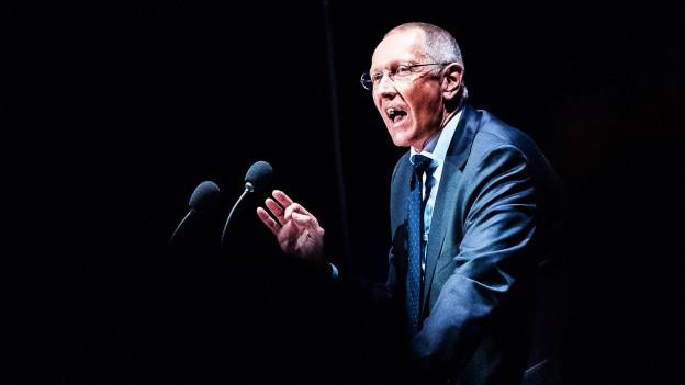 Konrad Paul Liessmann bei einer Rede