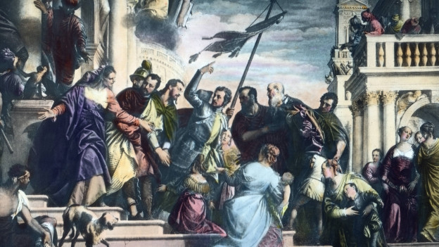 Historisches Bild der Christenverfolgung