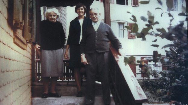 Paul Grüninger mit Frau und Tochter