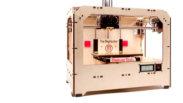 Der 3D-Drucker The Replicator.