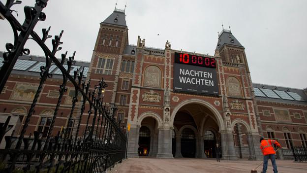 Nach langer Renovation wieder eröffnet: das Rijksmuseum in Amsterdam, Foto vom 4.4.13