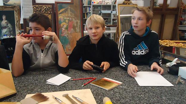 Kinder und Jugendliche als Gestalterinnen und Gestalter ihrer Gegenwart.