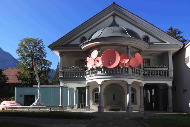 Klein, aber fein: Das Haus für Kunst Uri mit einer Installation von Anastasia Kastidis (2009)