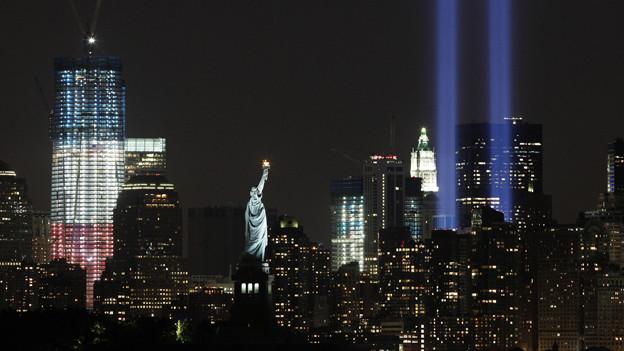 Eine Leerstelle: Das Fehlen des World Trade Centers