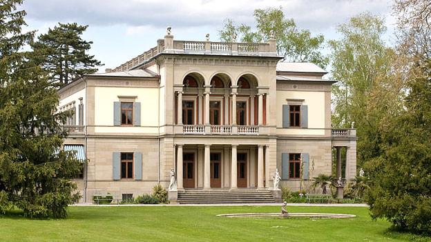 Die Villa Wesendonck im Zürcher Rieterpark beherbergt seit 1952 das Museum Rietberg.