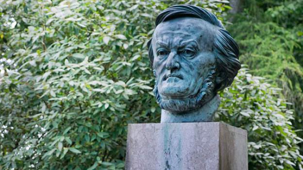 Wagner Büste in Bayreuth.