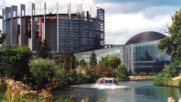 Die Bedeutung der Flüsse für Europa – hier in Strassburg.