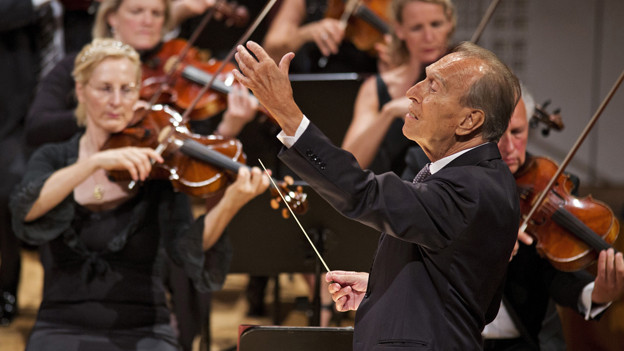 Wie revolutionär ist das Lucerne Festival? Claudio Abbado bei der Eröffnung.