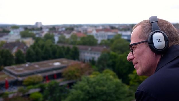 Stefan Keagis Audiowalk «Remote Basel»: Ein Kino im Kopf.