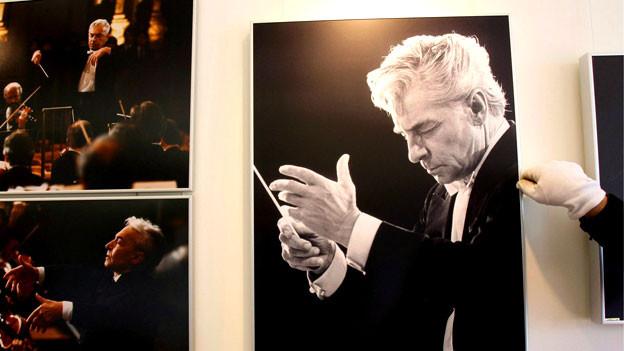 Bilder mit Herbert von Karajan als Motiv.