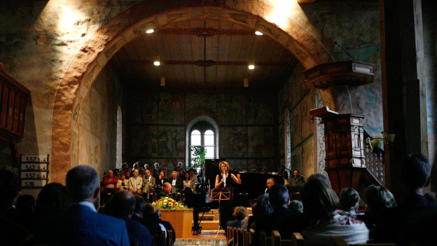 Sakrale Musik – hier am Menuhin Festival in der Kirche Saanen.