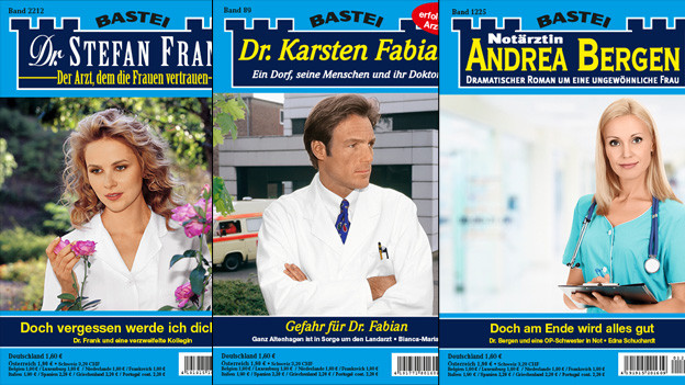 Verpönt, aber erfolgreich: Arztromane.