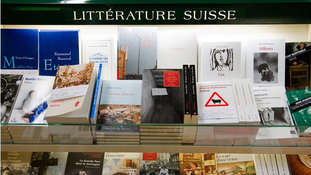 Livres und Libri: Literarisches Schaffen in der Romandie und im Tessin.