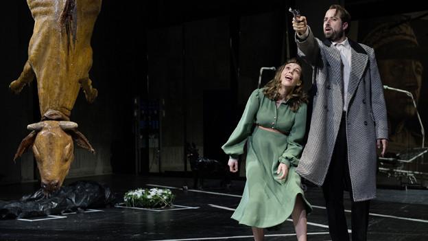 «Der Richter und sein Henker» am Theater Basel