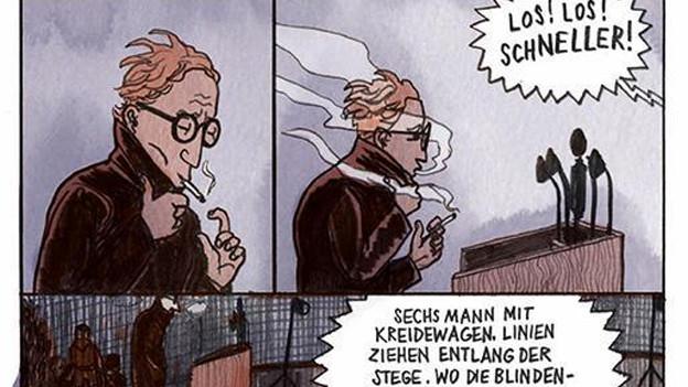 Coverausschnitt der Graphic Novel «Flughunde».