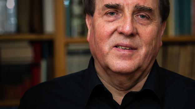 Der Zürcher Literaturwissenschafter Charles Linsmayer.