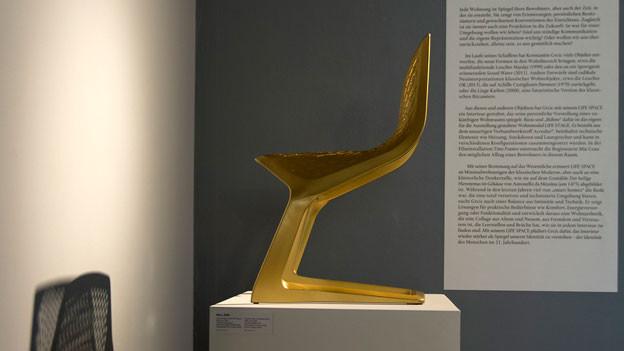 «Myto» (Freischwinger) Stuhl des deutschen Designers Konstantin Grcic