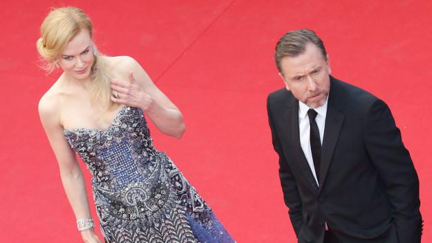 Nicole Kidman und Tim Roth auf dem roten Teppich.