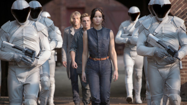 Jennifer Lawrence als Katniss Everdeen in «The Hunger Games».