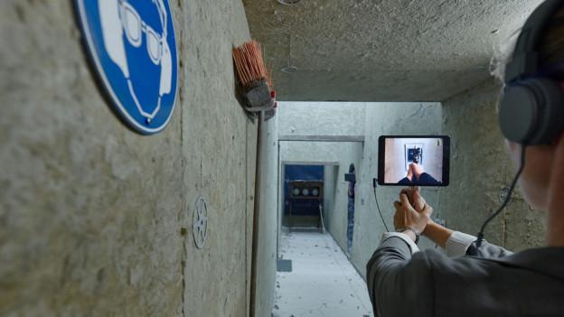 «Situation Rooms» ist ein begehbarer Parcours durch die Geschichten kriegsversehrter Menschen.