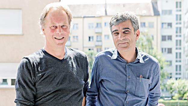 Dieter Gränicher und Yusuf Yesilöz im Porträt.